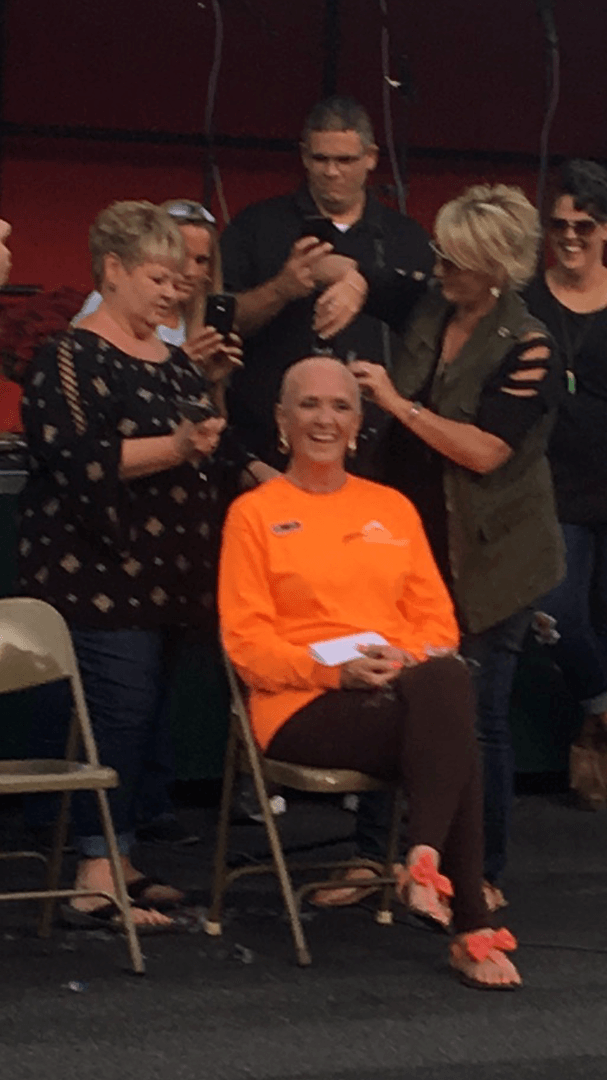 Deb Bedwell as the 2017 Hairless Bounty Candidate!